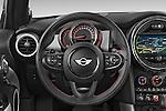 Car pictures of steering wheel view of a2015 MINI MINI COOPER S 3 Door Hatchback 2WD Steering Wheel