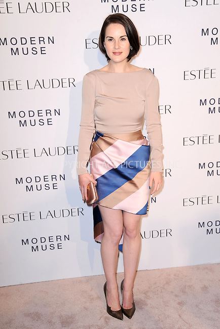 WWW.ACEPIXS.COM<br /> September 12, 2013...New York City<br /> <br /> Michelle Dockery attending the Estee Lauder 'Modern Muse' Fragrance Launch Party at the Guggenheim Museum on September 12, 2013 in New York City.<br /> <br /> Please byline: Kristin Callahan/Ace Pictures<br /> <br /> Ace Pictures, Inc: ..tel: (212) 243 8787 or (646) 769 0430..e-mail: info@acepixs.com..web: http://www.acepixs.com