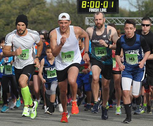 Long Island Marathon Weekend's inaugural 1-mile race gets underway at Eisenhower Park on Saturday, May 5, 2018.