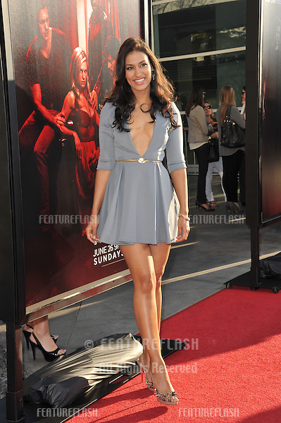 "Janina Gavankar at the Los Angeles premiere of the fourth season of HBO's ""True Blood"" at the Cinerama Dome, Hollywood..June 21, 2011  Los Angeles, CA.Picture: Paul Smith / Featureflash"