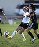 Images from the Galena at Douglas girls varsity soccer game in Minden, Nev., on Tuesday, Oct. 9, 2012. The game ended in a 3-3 tie..Photo by Cathleen Allison