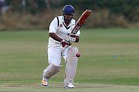Z Sharif in batting action for Hainault during Hainault and Clayhall CC (batting) vs Oakfield Parkonians CC, Shepherd Neame Essex League Cricket at the Jack Carter Pavilion on 15th July 2017