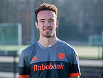 UTRECHT - Diede van Puffelen,   away   shirt speler Nederlands Hockey Team heren. COPYRIGHT KOEN SUYK