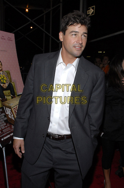"KYLE CHANDLER.The New York premiere of ""Lars and The Real Girl"" held at The Paris Theater, New York, New York, USA..October 3rd, 2007.half length grey gray suit 3/4.CAP/ADM/BL.©Bill Lyons/AdMedia/Capital Pictures. *** Local Caption ***"