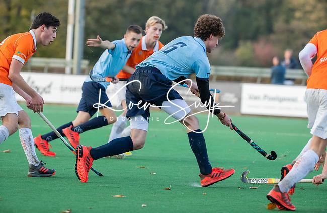 BLOEMENDAAL  - Bas Sonneveldt (Nijmegen)  , competitiewedstrijd junioren  landelijk  Bloemendaal JA1-Nijmegen JA1 (2-2) . COPYRIGHT KOEN SUYK