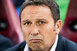 Coach Eusebio Sacristan Mena of Real Sociedad looks on during the training session prior to their La Liga match between Atletico de Madrid vs Real Sociedad at the Vicente Calderon Stadium on 04 April 2017 in Madrid, Spain. Photo by Diego Gonzalez Souto / Power Sport Images