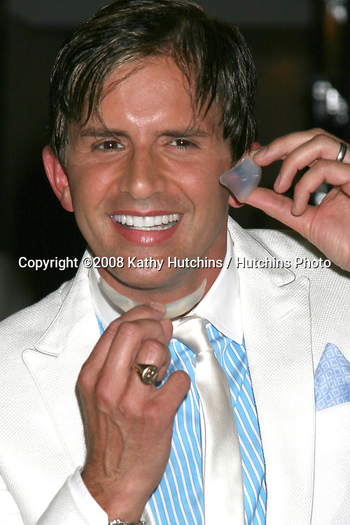 Dr. Robertt Rey arriving at the Dr. Robert Rey Sensual Solutions Launch Party at the Thompson Hotel in  Beverly Hills, CA on.September 3, 2008.©2008 Kathy Hutchins / Hutchins Photo....