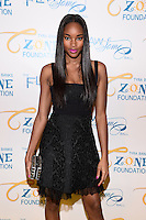 NEW YORK, NY - MAY 6, 2014: Model Damaris Lewis iattends the Tyra Banks'  Flawsome Ball 2014 , at Cipriani Wall Street ,May 6 , 2014 in New York City  HP/StarlitePics