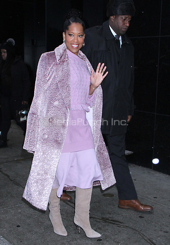 NEW YORK, NY - December 13: Regina King at Good Morning America promoting her new film, If Beale Street Could Talk on December 13, 2018 in New York City. Credit: RW/MediaPunch
