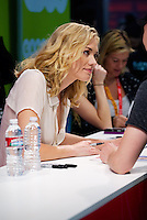 Yvonne Strahovski at day one of Comic-Con International 2012 at the San Diego Convention Center in San Diego, California. July 12, 2012. &copy;&nbsp;mpi77/MediaPunch Inc. /*NORTEPHOTO*<br />