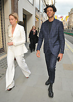 guest and Charlie Casely-Hayford at the Stella McCartney new eco-friendly flagship store opening party, Stella McCartney, Old Bond Street, London, England, UK, on Tuesday 12 June 2018.<br /> CAP/CAN<br /> &copy;CAN/Capital Pictures