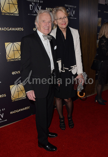 31 January  - Beverly Hills, Ca - Les Dilley. Arrivals for the Art Director's Guild 20th Annual Production Design Awards held at Beverly Hilton Hotel. Studios. Photo Credit: Birdie Thompson/AdMedia
