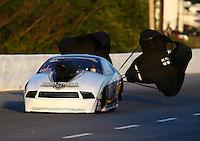 May 16, 2014; Commerce, GA, USA; NHRA pro mod driver Bill Glidden during qualifying for the Southern Nationals at Atlanta Dragway. Mandatory Credit: Mark J. Rebilas-USA TODAY Sports