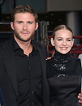 Scott Eastwood and Britt Robertson at The Twentieth Century Fox  premiere of THE LONGEST RIDE held at the TCL Chinese Theatre  in Hollywood, California on April 06,2015                                                                               © 2015 Hollywood Press Agency