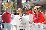 Spencer Ross & Pat Sellers Ross support Bring Back Our Girls - 500 Days on August 27, 2015 - New York City, New York (Photo by Sue Coflin/Max Photos)