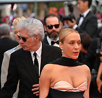 """CANNES, FRANCE. May 14, 2019: Jim Jarmusch & Chloe Sevigny at the gala premiere for """"The Dead Don't Die"""" at the Festival de Cannes.<br /> Picture: Paul Smith / Featureflash"""
