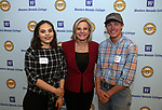 "From left, Gizhe Cardoza, Dr. Erin Oksol and William Chappell pose for photos at the ""We Are Western"" event hosted by the Western Nevada College Foundation, in Carson City, Nev., on Friday, March 8, 2019. <br /> Photo by Cathleen Allison/Nevada Momentum"