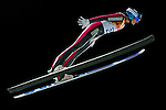 Helena Olsson Smeby of Norway compete during the Ski Jumping Ladies' Normal Hill Individual as part of the 2014 Sochi Olympic Winter Games at RusSki Gorki Jumping Center on February 11, 2014 in Sochi, Russia. Photo by Victor Fraile / Power Sport Images