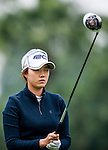 Jin-Hee Park of Korea in action during the Hyundai China Ladies Open 2014 on December 12 2014, in Shenzhen, China. Photo by Xaume Olleros / Power Sport Images