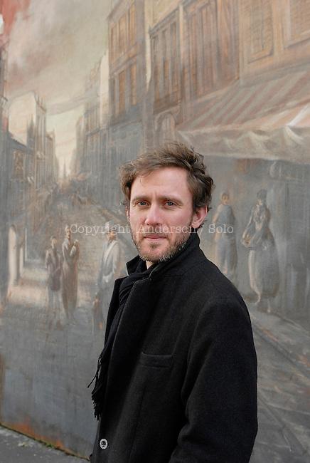 Arno Bertina, French writer.