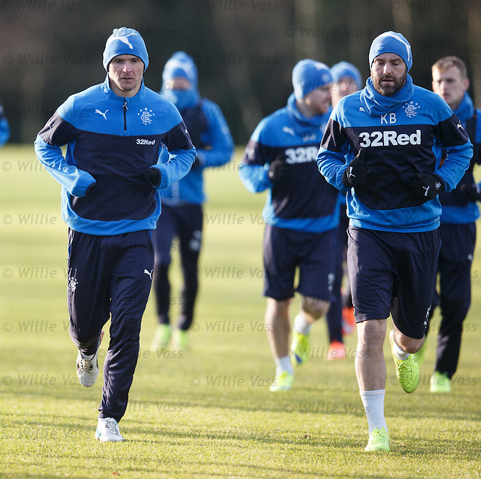 Lee McCulloch and Kris Boyd