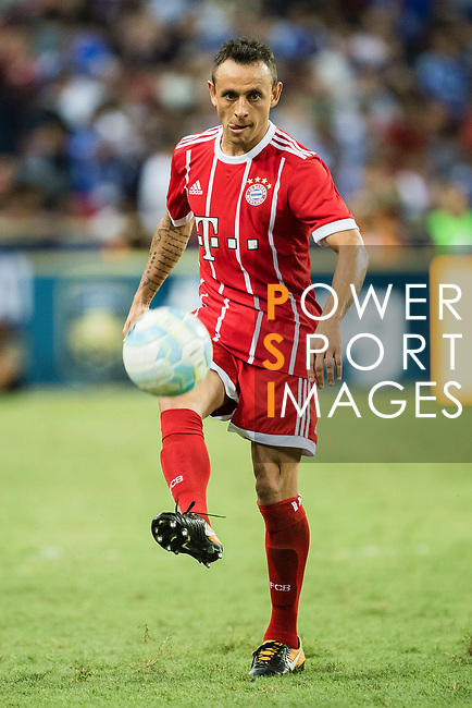 Bayern Munich Defender Rafinha de Souza in action during the International Champions Cup match between Chelsea FC and FC Bayern Munich at National Stadium on July 25, 2017 in Singapore. Photo by Weixiang Lim / Power Sport Images
