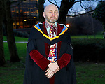 REPRO FREE<br /> 21/01/2015<br /> Brian Fleming, One of the First Graduates of the first ever MA in Festival Arts, Irish World Academy of Music and Dance at the University of Limerick pictured as the University of Limerick continues three days of Winter conferring ceremonies which will see 1831 students conferring, including 74 PhDs. <br /> UL President, Professor Don Barry highlighted the increasing growth in demand for UL graduates by employers and the institution&rsquo;s position as Sunday Times University of the Year. <br /> Picture: Don Moloney / Press 22