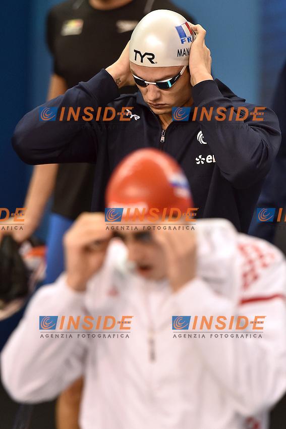 Florent MANAUDOU FRA Men's 100m Freestyle <br /> Doha Qatar 06-12-2014 Hamad Aquatic Centre, 12th FINA World Swimming Championships (25m). Nuoto Campionati mondiali di nuoto in vasca corta.<br /> Photo Andrea Staccioli/Deepbluemedia/Insidefoto