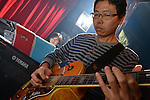 Boplicity, Tainan -- Guest guitarist Martin playing with Smalls Jazz Combo.
