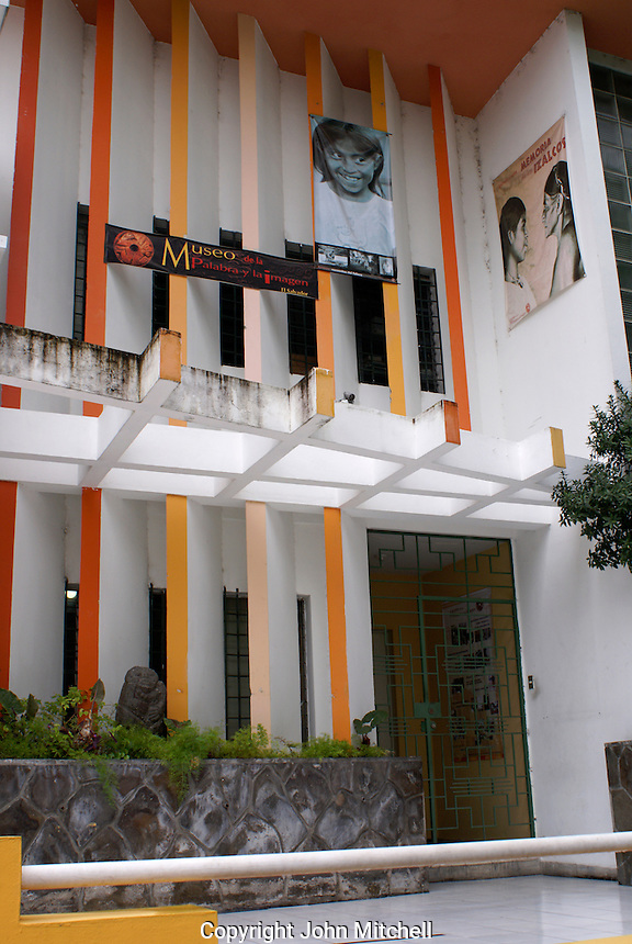 The Museo de la Palabra y la Imagen or Museum of Word and Image in San Salvador, El Salvador