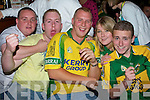 2809-2810.Having a great time shouting for Kerry in Hennessy's were l/r John Morriarty, Michael Tobin, John Coffey, Catherine Tierney and Martin Tiernan............................................... ............   Copyright Kerry's Eye 2008