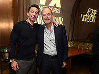 LOS ANGELES - SEPTEMBER 21: (L-R) Rob McElhenney and John Landgraf, Chairman, FX Networks & FX Productions attend the FX Networks & Vanity Fair Pre-Emmy Party at Craft LA on September 21, 2019 in Los Angeles, California. (Photo by Frank Micelotta/FX/PictureGroup)