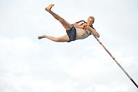 FIERLJEPPEN: WINSUM: 20-07-2016, Systse Bokma springt nieuw PR van 20.67m, ©foto Martin de Jong