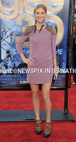 """HEATHER MORRIS.attends the World Premiere of """"Glee The 3D Concert Movie"""" at the Regency Village Theater, Westwood, Los Angeles_06/08/2011.Mandatory Photo Credit: ©Crosby/Newspix International. .**ALL FEES PAYABLE TO: """"NEWSPIX INTERNATIONAL""""**..PHOTO CREDIT MANDATORY!!: NEWSPIX INTERNATIONAL(Failure to credit will incur a surcharge of 100% of reproduction fees).IMMEDIATE CONFIRMATION OF USAGE REQUIRED:.Newspix International, 31 Chinnery Hill, Bishop's Stortford, ENGLAND CM23 3PS.Tel:+441279 324672  ; Fax: +441279656877.Mobile:  0777568 1153.e-mail: info@newspixinternational.co.uk"""