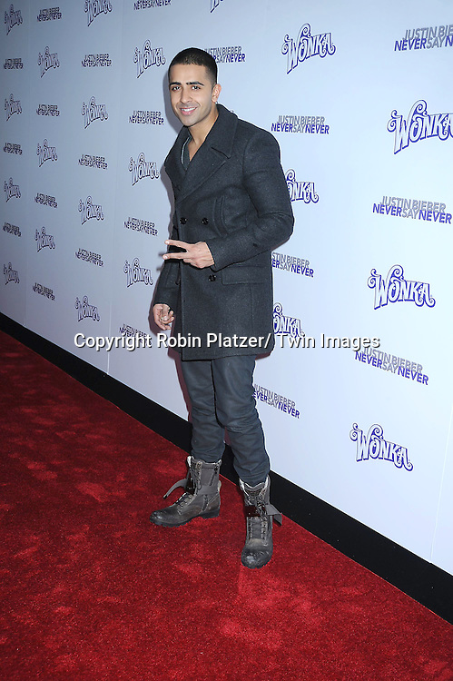 "Jay Sean attending The New York Special Screening of ""Justin Bieber: Never Say Never"" on February 2, 2011 at The Regal E-Walk Stadium Theatre in New York City."