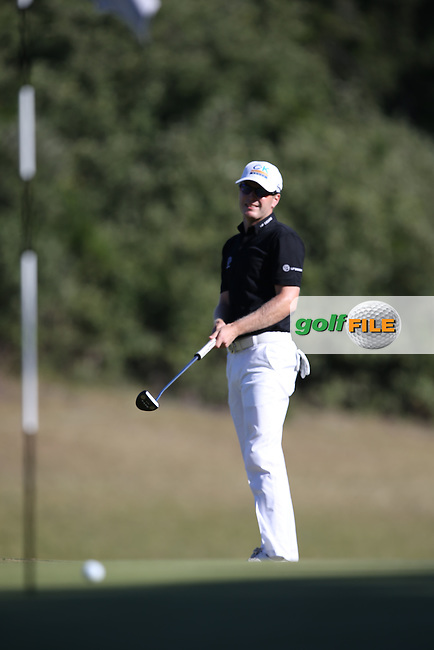Par for Matt Ford (ENG) on the 17th during Round Three of the Africa Open 2015 at the East London Golf Club, East London, Eastern Cape, South Africa. Picture:  David Lloyd / www.golffile.ie. 07/03/2015