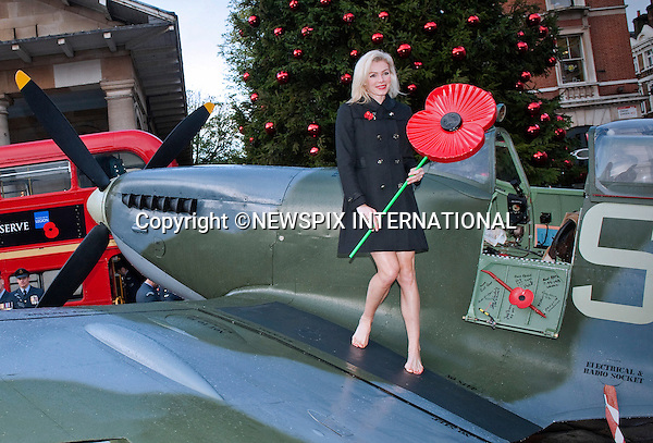 "NEIL McANDREW.promotes the start of the London Poppy Day Appeal on a spitfire in Trafalgar Square, London_01/11/2012.Mandatory Credit Photo: ©A Harlen/NEWSPIX INTERNATIONAL..**ALL FEES PAYABLE TO: ""NEWSPIX INTERNATIONAL""**..IMMEDIATE CONFIRMATION OF USAGE REQUIRED:.Newspix International, 31 Chinnery Hill, Bishop's Stortford, ENGLAND CM23 3PS.Tel:+441279 324672  ; Fax: +441279656877.Mobile:  07775681153.e-mail: info@newspixinternational.co.uk"