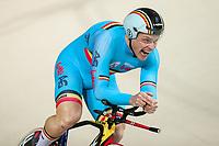Picture by Alex Whitehead/SWpix.com - 23/03/2018 - Cycling - 2018 UCI Para-Cycling Track World Championships - Rio de Janeiro Municipal Velodrome, Barra da Tijuca, Brazil - Kris Bosman of Belgium competes in the Men's C3 1km Time Trial final.