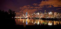 Contemporay image of Vancouver,British Colombia, Canada.
