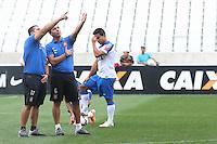 SAO PAULO, SP, 16.05.2014 - TREINO CORINTHIANS -  Treino do Corinthians no Estadio de Itaquera na regiao leste da cidade de Sao Paulo nesta sexta-feira. (Foto: Vanessa Carvalho / Brazil Photo Press).