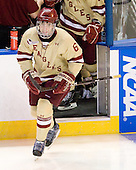 Patrick Wey (BC - 6) - The Boston College Eagles defeated the Air Force Academy Falcons 2-0 in their NCAA Northeast Regional semi-final matchup on Saturday, March 24, 2012, at the DCU Center in Worcester, Massachusetts.