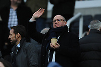 Newcastle United managing director Lee Charnley during Newcastle United vs Swansea City, Premier League Football at St. James' Park on 13th January 2018