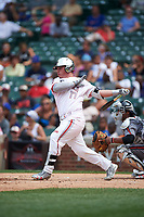 Sam Praytor (17) of Helena High School in Helena, Alabama during the Under Armour All-American Game presented by Baseball Factory on July 23, 2016 at Wrigley Field in Chicago, Illinois.  (Mike Janes/Four Seam Images)