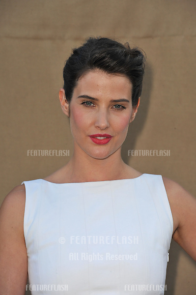Cobie Smulders at the CBS 2013 Summer Stars Party in Beverly Hills.<br /> July 29, 2013  Los Angeles, CA<br /> Picture: Paul Smith / Featureflash