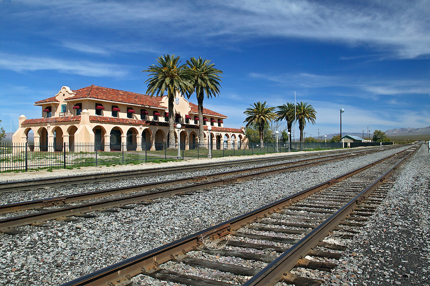 The Kelso Train Station, Mojave Natoinal Preserve, California