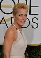 Gillian Anderson at the 74th Golden Globe Awards  at The Beverly Hilton Hotel, Los Angeles USA 8th January  2017<br /> Picture: Paul Smith/Featureflash/SilverHub 0208 004 5359 sales@silverhubmedia.com