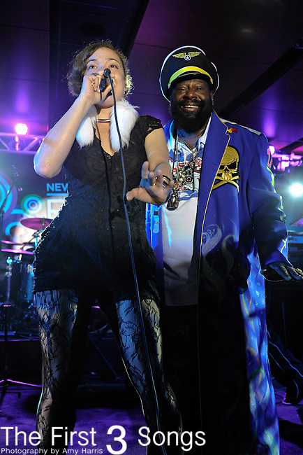 George Clinton and Parliament Funkadelic perform at the 2011 Essence Music Festival on July 3, 2011 in New Orleans, Louisiana at the Louisiana Superdome.
