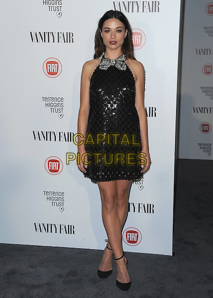 HOLLYWOOD, CA - FEBRUARY 17:  Crystal Reed at the Vanity Fair and Fiat &quot;Young Hollywood&quot; event at No Vacancy on February 17, 2015 in Hollywood, California. <br /> CAP/MPI/PGSK<br /> &copy;PGSK/MediaPunch/Capital Pictures