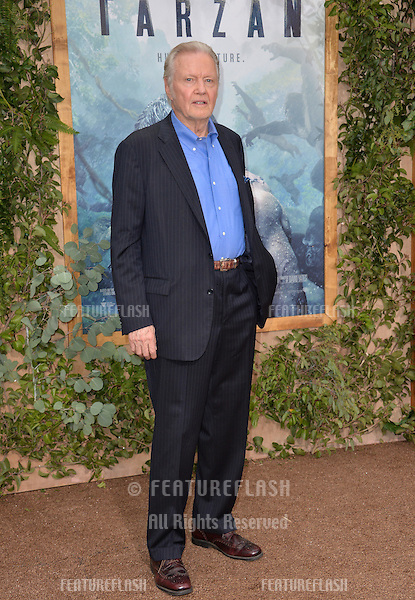 LOS ANGELES, CA. June 27, 2016: Actor Jon Voight at the world premiere of &quot;The Legend of Tarzan&quot; at the Dolby Theatre, Hollywood.<br /> Picture: Paul Smith / Featureflash