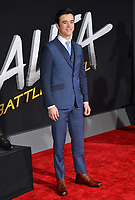LOS ANGELES, CA. February 05, 2019: Keean Johnson at the premiere for &quot;Alita: Battle Angel&quot; at the Regency Village Theatre, Westwood.<br /> Picture: Paul Smith/Featureflash